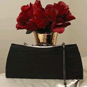 Liz Soto Black Evening Clutch